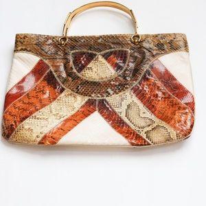 Large Vintage Leather Handbag